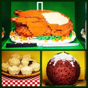 Ucapan selamat model LEGO, serem juga sih kalo musti dimakan hehehe. Merry Christmas!!! :)