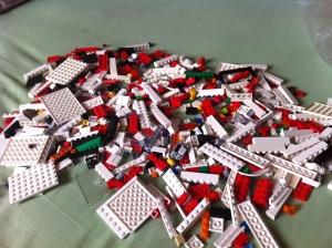 nah seperti inilah bahan mentah 7-11, 874 bricks