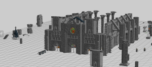 MOC ini besar sekali jika di kerjakan. Ada lebih dari 26ribu LEGO Bricks.