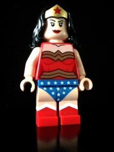 Superhero yang sexy, wonder woman