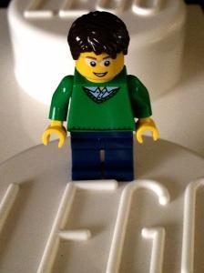 Pria berbaju hijau :)