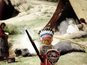 Orang Indian siap perang :)