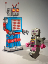 Ayo kenalan sama robot baru :)