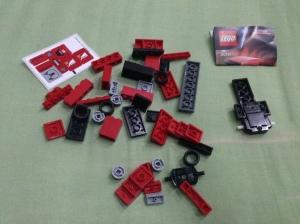 Part dari Truk Ferrari LEGO set