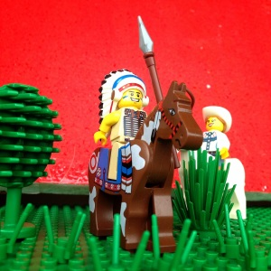 Kepala sukunya dikejar koboi cewe tuhh :)