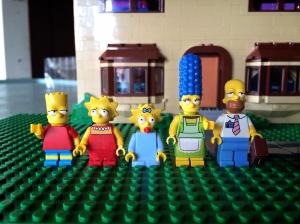 Nah inilah komplit Simpson Family :)